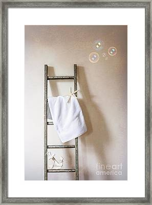 Towel Rail Framed Print by Amanda Elwell