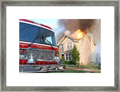 Tower 1 Framed Print by Steven Townsend