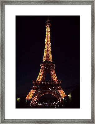Tower At Night Framed Print