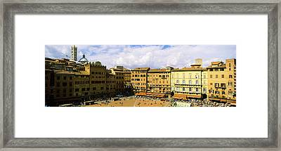 Tower Attached To A Town Hall, Torre Framed Print by Panoramic Images