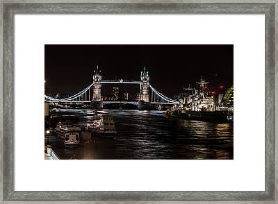 Tower Bridge London England Framed Print by John Hastings