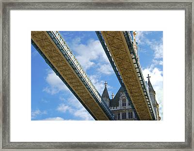 Tower Bridge Framed Print by Christi Kraft