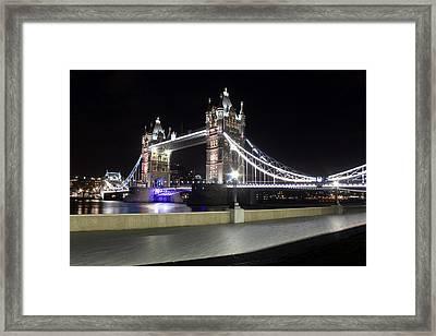 Tower Bridge London Framed Print by Dan Davidson