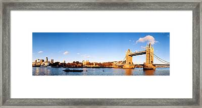 Tower Bridge, London, England, United Framed Print by Panoramic Images