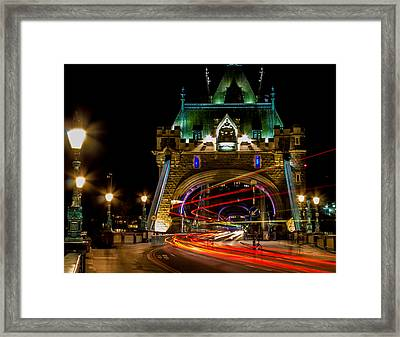Tower Bridge Framed Print by Martin Newman