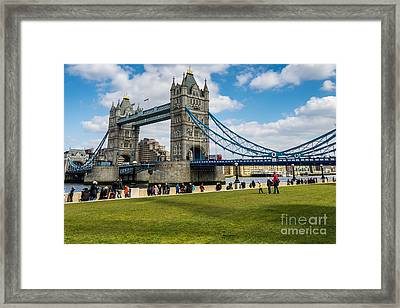 Tower Bridge Framed Print by Matt Malloy