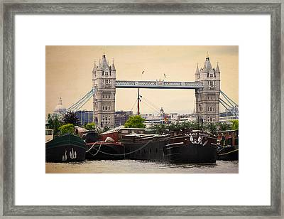 Tower Bridge Framed Print by Stephen Norris