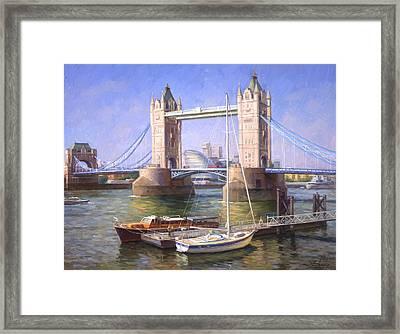 Tower Bridge.london Framed Print