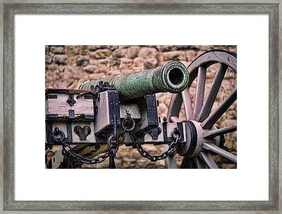 Tower Canon Framed Print by Heather Applegate