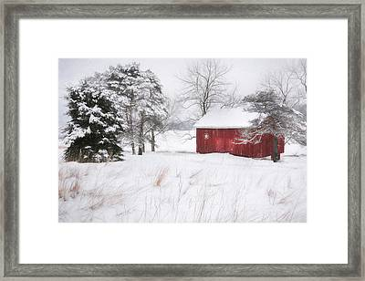Tower City Farm Framed Print by Lori Deiter