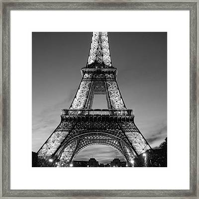 Tower Glow Framed Print
