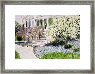 Tower Hill Blues Framed Print