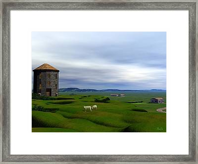 Tower Hill Framed Print by John Pangia
