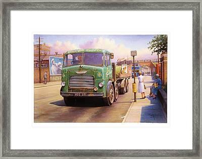 Tower Hill Transport. Framed Print