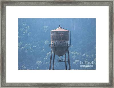 Tower In The Trees Framed Print by Lotus