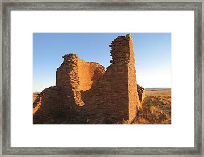 Tower Kiva At Kin Klizhin Framed Print by Feva  Fotos