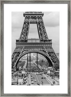 Tower Framed Print by Leeya Eskinazi