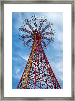 Tower Framed Print by Mitch Cat