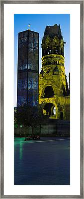 Tower Of A Church, Kaiser Wilhelm Framed Print by Panoramic Images