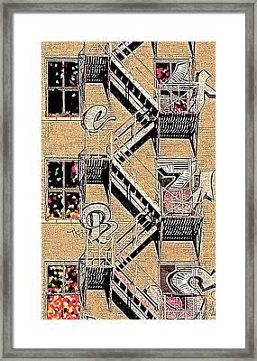 Tower Of Babel Framed Print by Johnny Johnston