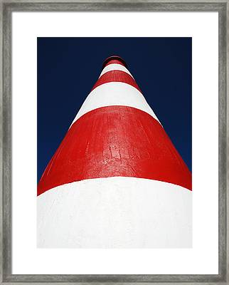 Tower Of Contrast Framed Print