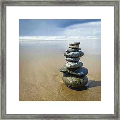 Tower Of Eight Framed Print