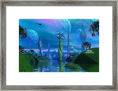 Tower Of Hurn Framed Print