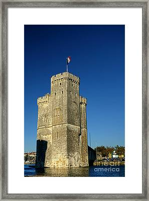 Tower Of La Rochelle Framed Print by Olivier Le Queinec