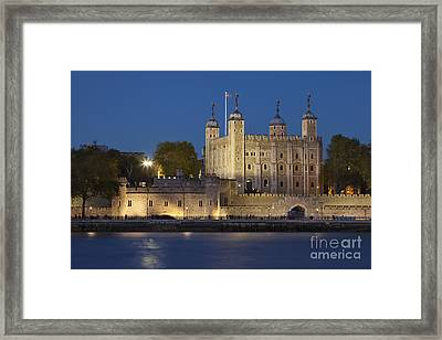 Tower Of London Framed Print by Brian Jannsen