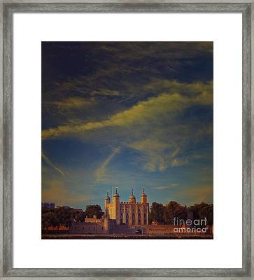 Tower Of London Framed Print by Paul Grand