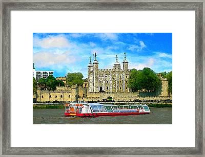 Tower Of London Framed Print