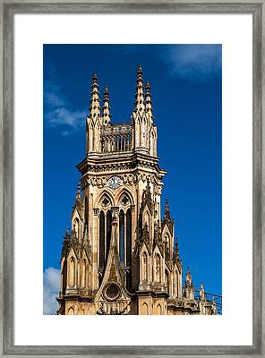Tower Of Lourdes Church Framed Print by Jess Kraft