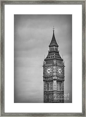 Tower Of Power Framed Print by Evelina Kremsdorf