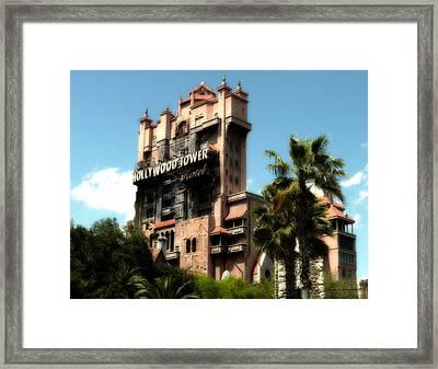 Tower Of Terror Walt Disney World Framed Print