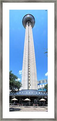 Tower Of The Americas Framed Print