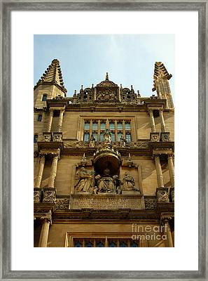 Tower Of The Five Orders Bodleian Library Oxford Framed Print