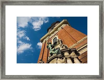 Tower Of The St. Michaelis Church Framed Print by Panoramic Images