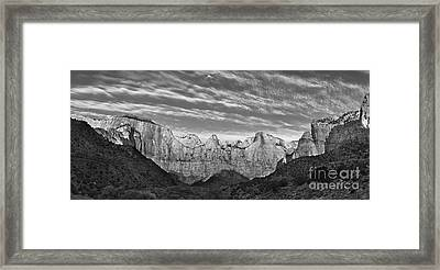 Tower Of The Virgin  Framed Print by Jerry Fornarotto