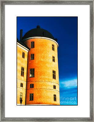 Tower Of Uppsala Castle - Sweden Framed Print