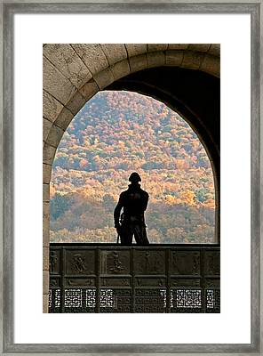 Tower Of Victory Framed Print