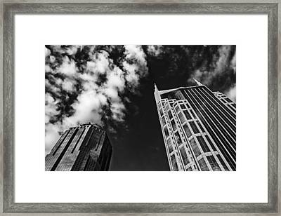 Tower Up Framed Print by CJ Schmit