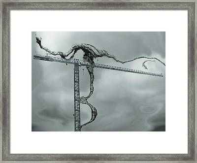 Towering 2 Framed Print by Wendy J St Christopher