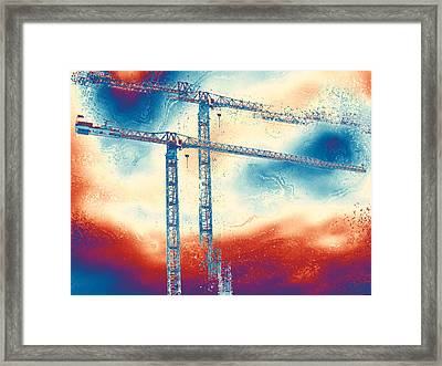 Towering 3 Framed Print by Wendy J St Christopher