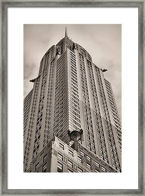 Towering Bw Framed Print by JC Findley