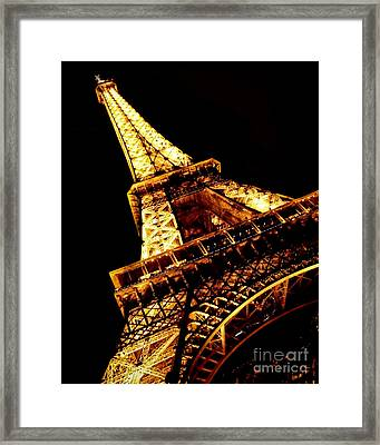 Towering Framed Print by Heather Applegate