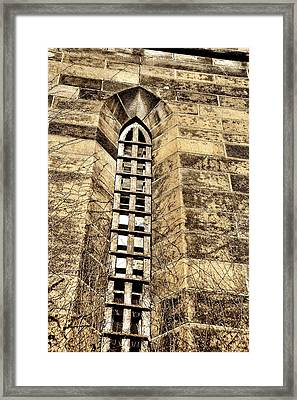 Towering Prison Framed Print by JAMART Photography