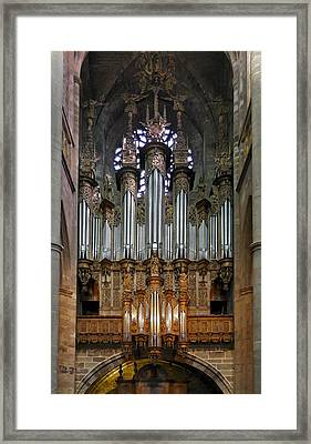 Towering Pipes Framed Print by Jenny Setchell