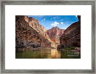 Towering Walls Framed Print by Inge Johnsson