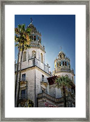 Towers At Hearst Castle - California Framed Print by Jon Berghoff