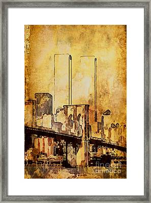 Towers Remembered  Framed Print